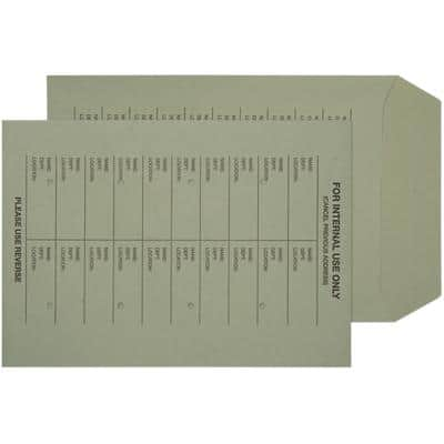 Niceday Internal Mail Envelopes C4 229 (W) x 324 (H) mm Ungummed 120gsm Green Pack of 250
