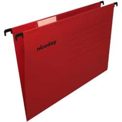 Niceday Flex Suspension File A4 Red - Box 25