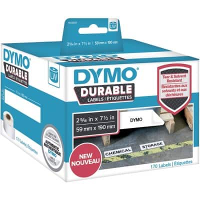 DYMO Multipurpose Labels 1933087 59 x 190 mm White 170 Pieces