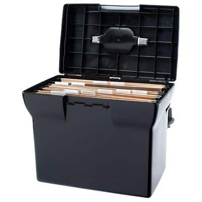 Pierre Henry File Box Black 33.5 x 18.5 x 25 cm