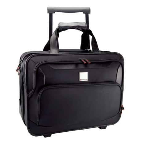 Monolith Deluxe Nylon Wheeled Laptop Case