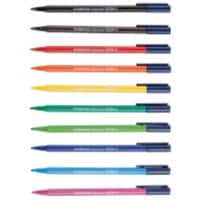 Staedtler Triplus fineliner pens assorted colours desktop box of 10