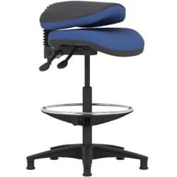 Pledge Draughtsman Chair TWO01/DM Draughtsman Blue
