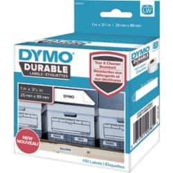 DYMO Shelving Labels 1976200 89 x 25 mm White