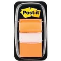 Post-it Index Flags 25.4 x 43.2 mm Orange 50 Strips