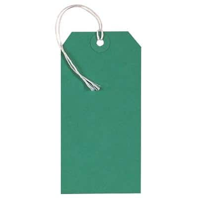 Tags Green 6 x 12 cm 250 Pieces