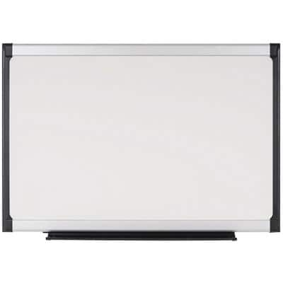Bi-Office Wall Mountable Magnetic Whiteboard Lacquered Steel Provision 180 x 120 cm