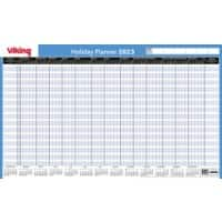 Office Depot Unmounted Holiday Planner 2021 Blue