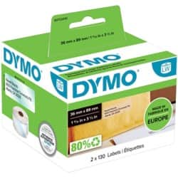 DYMO Address Labels 99013 36 x 89 mm Clear