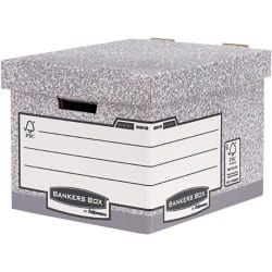 Fellowes bankers box system System Archive Boxes Grey 29.2 x 33.5 x 40.4 cm 10 pieces