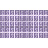 Royal Mail £3.00 Postage Stamps Self Adhesive 50 Pieces