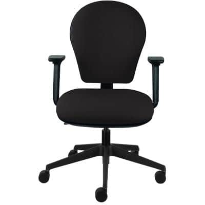 Energi-24 Posture Task Office Operators Chair Black