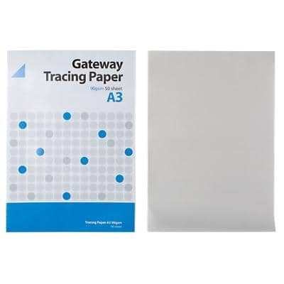 Tracing Paper 90gsm 297 mm Clear 50 Sheets