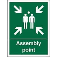 Sign Assembly Point 15 x 20 cm