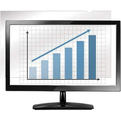 Fellowes Widescreen Monitors Blackout Privacy Filter 16:9 19.5 inch