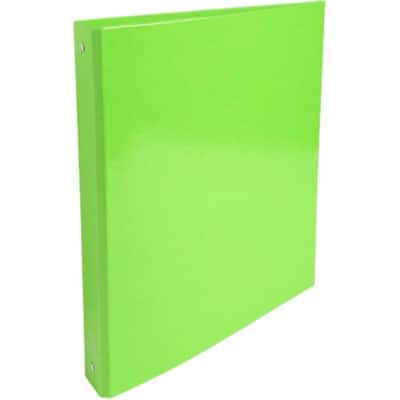 Exacompta Ring Binder 40 mm Smooth Polypropylene 4 ring A4 Green