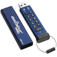 iStorage USB Flash Drive datAshur Pro USB3 256-bit 4GB 4 GB Blue