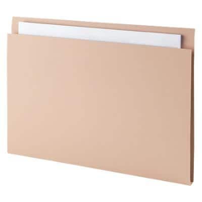 Guildhall Square Cut Folder Buff 315gsm Manila Pack of 100