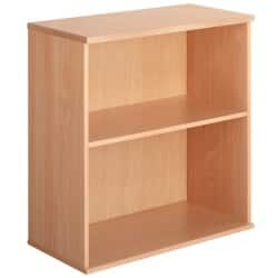 Largo Desk high bookcase beech