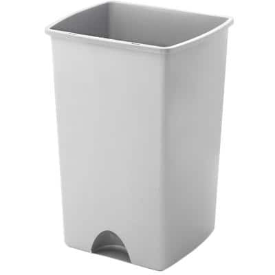 ADDIS Bin Metallic Silver 48 L Plastic 530 x 360 x 320 mm