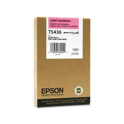 Epson T5436 Original Ink Cartridge C13T543600 Light Magenta
