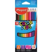 Maped Colouring Pencils 183212 Assorted Pack of 2