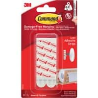 Command Mounting Strip 2.2 kg Holding Capacity White Pack of 6