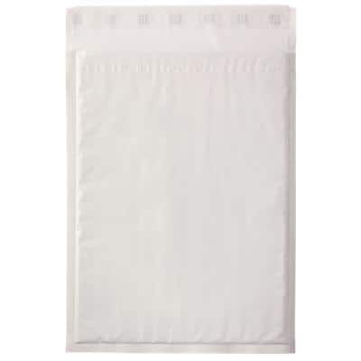 Mail Lite Tuff Padded Envelopes G/4 240 (W) x 330 (H) mm Peel and Seal White Pack of 50
