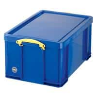 Really Useful Box Plastic Storage 64 Litre Blue 440 x 710 x 310 mm