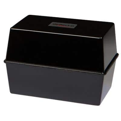 "Card Index System - 6"" X 4"" - Black"