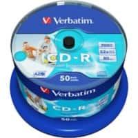 Verbatim CD-R 43438 700 MB 50 Pieces