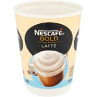 NESCAFÉ & Go Gold Instant Latte Coffee Cups Pack of 8