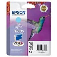 Epson T0805 Original Ink Cartridge C13T08054011 Cyan