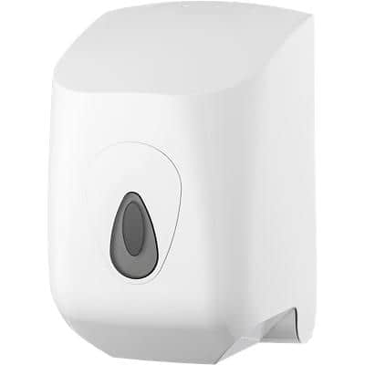 Rolled Hand Towel Dispenser Midi Plastic White 23 x 23.5 x 35 cm