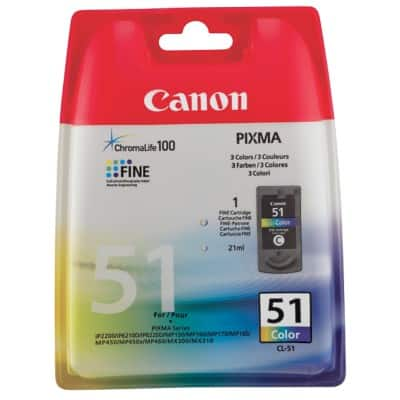 Canon CL-51 Original Ink Cartridge 3 Colours