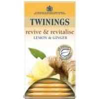 Twinings Lemon & Ginger Tea Bags 20 Pieces