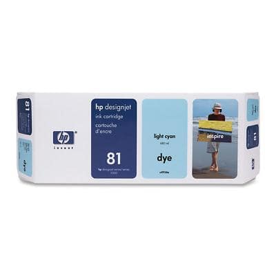 HP 81 Original Ink Cartridge C4934A Light Cyan
