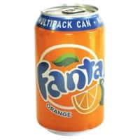 Fanta Soft Drink Can Orange 330ml Pack of 24
