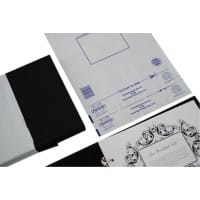 PostSafe Foil Envelope C4 300gsm White Plain Peel and Seal 100 Pieces
