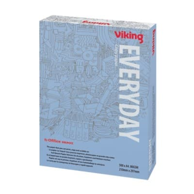 Viking Everyday Copy Paper A4 80gsm White 500 Sheets