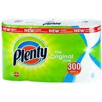 Plenty Kitchen Roll 2 Ply 3 Rolls of 100 Sheets