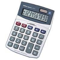 Office Depot Desktop Calculator AT-711 10 Digit Display Silver