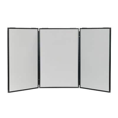 Freestanding Display Stand Nyloop Fabric Lightweight 610 x 915mm Grey