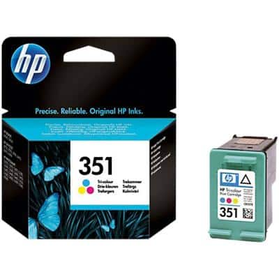HP 351 Original Ink Cartridge CB337EE 3 Colours