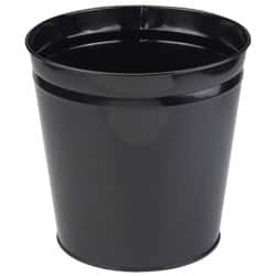Metal Waste Bins-Black
