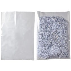 Niceday Medium Weight Polythene Bags Clear 457 x 610 mm 200 Per Pack
