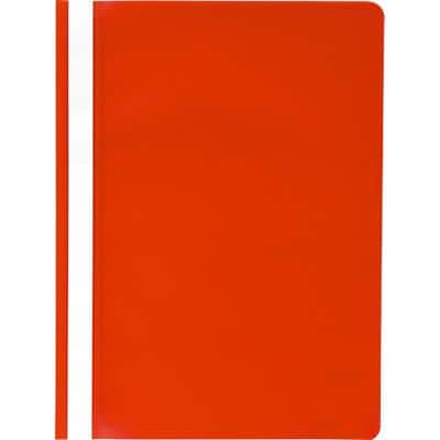 Exacompta Report File 449203B A4 Red Polypropylene Pack of 25