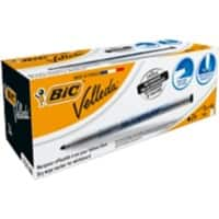 BIC 1721 Whiteboard Slim Marker Fine Bullet Black Pack of 24