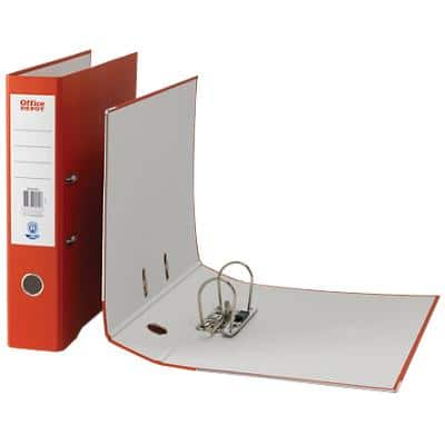 Office Depot Lever Arch File Red Foolscap 75 mm
