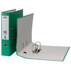 Office Depot Lever Arch File Foolscap 2 ring 75 mm Green